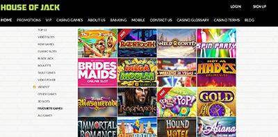 Online casino games for real money at HouseofJack.com