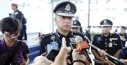 police chief Datuk Chuah Ghee Lye