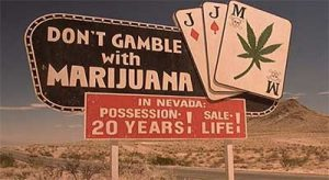 Casinos warned as Nevada legalises marijuana