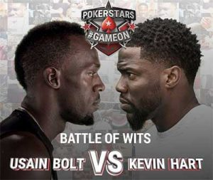 PokerStars Usain Bolt vs Kevin Hart