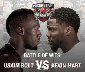 PokerStars Usain Bolt vs Kevin Hart