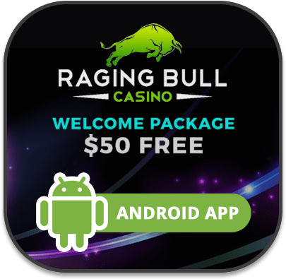 Raging Bull Android supported mobile casino site
