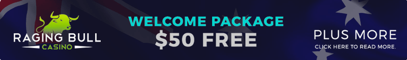 Raging Bull Casino sign up bonus promo code