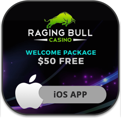 Raging Bull iOS mobile casino