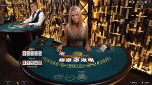 Caribbean Stud Poker Live Dealer