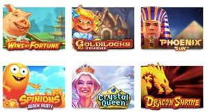Slots Million cartoon graphics